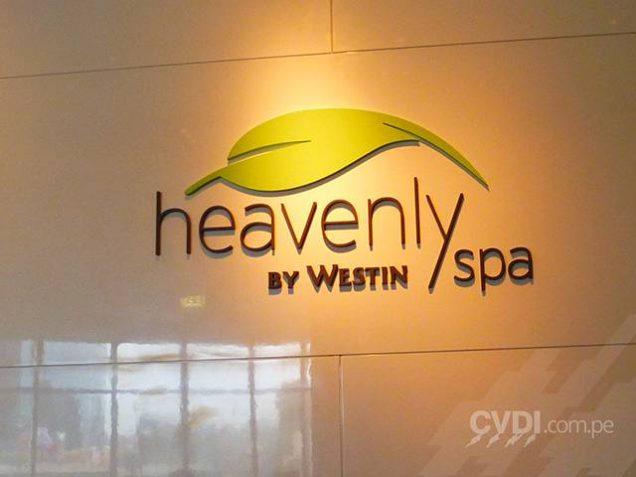 Letras corpóreas para interior - The Westin Hotel & Convention Center Lima