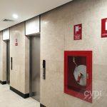 Señalética de seguridad - Edificio Trillium