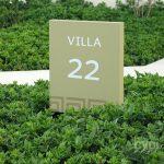 Señalética corporativa (placas informativas y numéricas) - Hotel Libertador