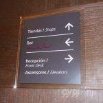 Señalética corporativa (placa orientativa) - The Westin Lima Hotel & Convention Center