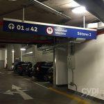 Señalización de estacionamientos - Edificio Pardo & Aliaga
