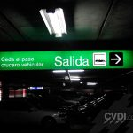Señalización de estacionamientos - Los Portales San Isidro (Andrés Avelino Cáceres)
