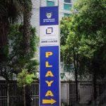 Totem para entrada del estacionamiento Andres A. Cáceres, San Isidro - Los Portales