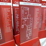 Totems con planos de ubicación - CASACOR