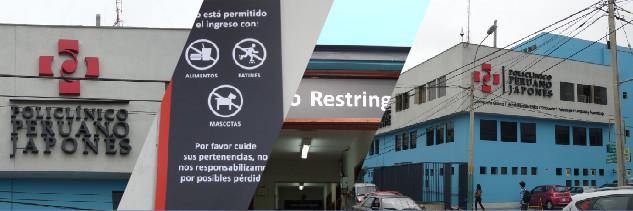 Proyecto de señalética - Policlínico Peruano Japonés