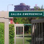 Salida de emergencia - Señalética de seguridad